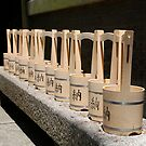 Water Buckets Outside Shrine by jojobob