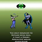 Batman and the Zombie Apocalypse by Landon3