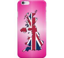 Smartphone Case - Cool Britannia - Magenta Diamond Background iPhone Case/Skin