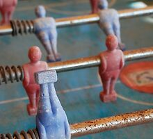 Figures On Old Table Football by jojobob