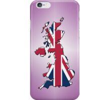 Smartphone Case - Cool Britannia - Plum Diamond Background iPhone Case/Skin