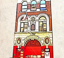 Engine 55 Soho NYC by icoNYC