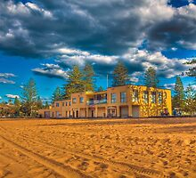 In the Shadows - Collaroy Beach SC by Dean Cunningham