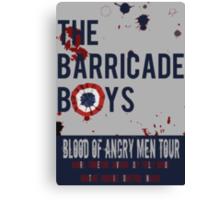 The Barricade Boys World Tour Canvas Print
