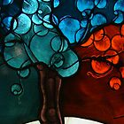 Tree stain glass case by Virginian Photography (Judy)