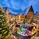 Christmas Market in Hildesheim, Germany by Mapics
