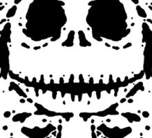 Jack Skell-ink-ton (black) Sticker