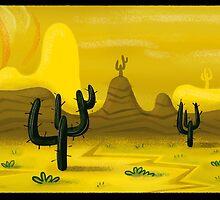 Western Landscape by Freddie Elsom