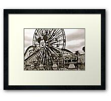 Mickey's Ferris Wheel Framed Print