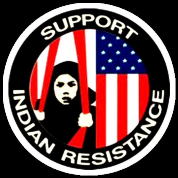 Support Indian Resistance by Jordan Farrar