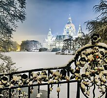Winter in Hannover, Germany by Michael Abid