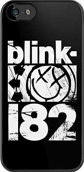 Blink-182 Smile (Black) by bradfantin