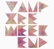 Vampire Weekend (pink) by merched