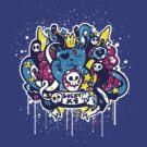 Un-Lucky Kitty by grrlmarvel