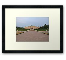 Distant view of Belvedere Palace in Vienna Framed Print