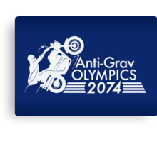 Anti-Grav Olympics Canvas Print