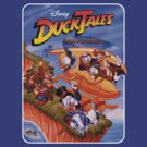Ducktales - NES Box cover - Remastered by fanboydesigns