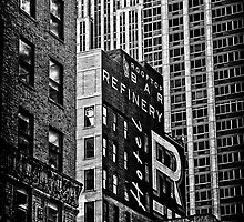 black n'white, blocks n'boxes.... by Russ Styles