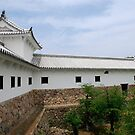 Building at Himeji Castle, Japan by jojobob