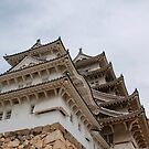 Castle at Himeji, Japan by jojobob