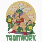 Turtle Teamwork by Skree