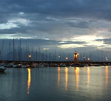Desenzano del Garda Marina with the Old Lighthouse by kirilart