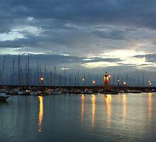 Desenzano del Garda Marina with the Old Lighthouse by kirilart