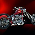 Red Chopper B by DaveKoontz