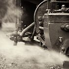 Old steam locomotive by Marcidog