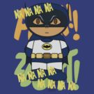 1969 Batman MiniFolk - Na Na Na Na Design by dangerliam