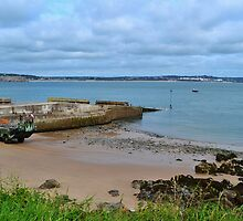 Priory Bay, Caldey Island by PhotosofWales