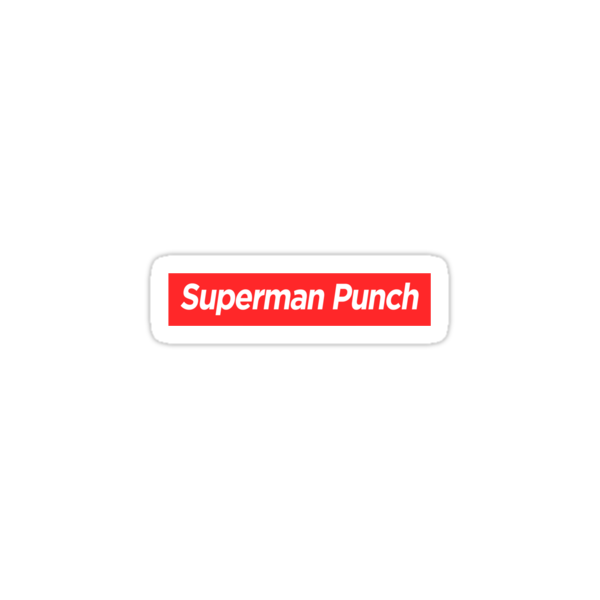 Supreme Superman Punch by bammydfbb