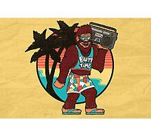 Bigfoot on Vacation Photographic Print