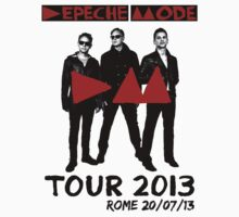 Depeche Mode : Delta Machine Tour 2013 - Rome 20-07-13 by Luc Lambert