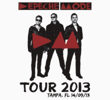 Depeche Mode : Delta Machine Tour 2013 - Tampa 14-09-13 by Luc Lambert