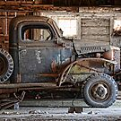 old dodge truck by Kathleen Small Wilkie