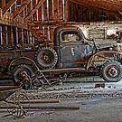 old dodge truck2 by Kathleen Small Wilkie