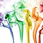 Rainbow Smoke by Michael Clarke