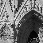 Reims Cathedral VI by Talia Felix