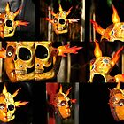 Fire Calavera-Mask by Diegomrios