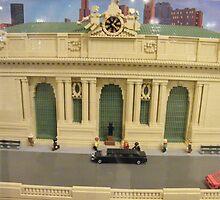 Lego Grand Central Terminal, Grand Central Station, New York City by lenspiro
