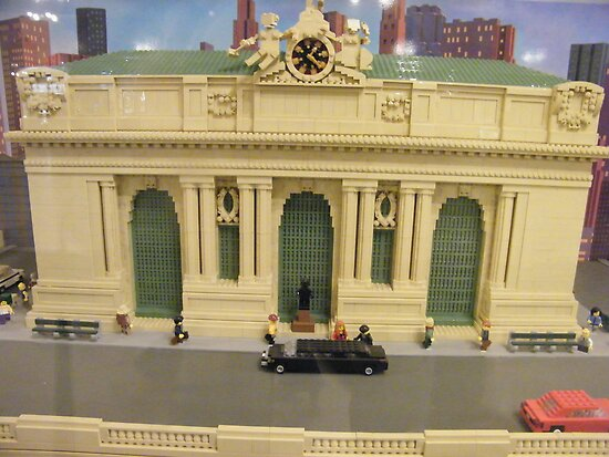 Lego Grand Central Terminal, Grand Central Station, New York City by lenspiro