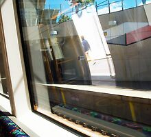 Subiaco Train Station - 28 03 13 - UB Bicycle by Robert Phillips