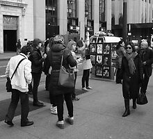 New York Street Photography 3 by Frank Romeo