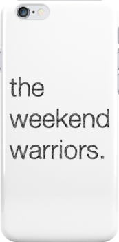 "MALDÉR ""Weekend Warriors"" iPhone/iPod Case by MALDÉR London"