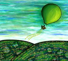 Come Fly With Me by Lisa Frances Judd ~ QuirkyHappyArt