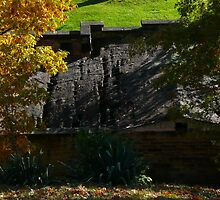 Sunken Grave Creek Mound Roof by Chad Burrall