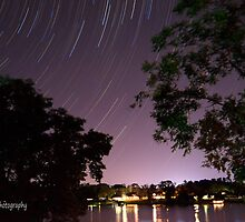 Purple Star Trail by KKooPhotography