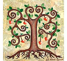Tree of Hearts Photographic Print