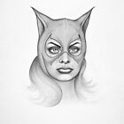 Sophia as Catwoman by philip gray